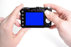 Taking pictures Royalty Free Stock Photo