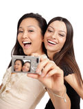 Taking Pictures Royalty Free Stock Images