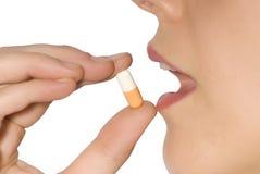 Taking pill
