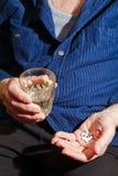 Taking Pills Stock Image