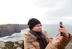 Taking a selfie Royalty Free Stock Image