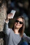 Taking selfie Royalty Free Stock Image