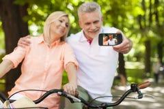 Taking selfie Royalty Free Stock Photo