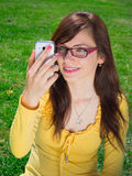 Taking a selfie Royalty Free Stock Photos