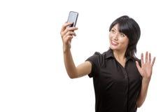 Taking a selfie Stock Photos