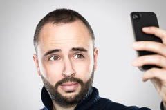 Taking a selfie Royalty Free Stock Photography