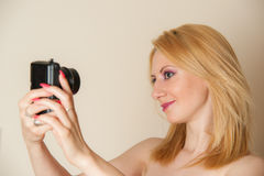 Taking Selfie Stock Photos
