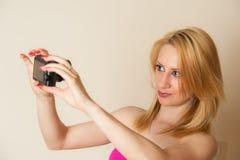 Taking Selfie Royalty Free Stock Photos