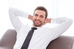 Taking time to relax. Royalty Free Stock Photography