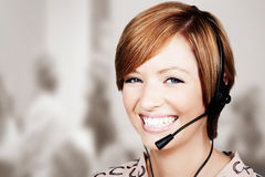 Taking your call Stock Photography