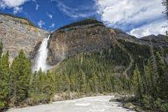 Takkakaw Falls Stock Image