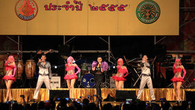 Takkatan Chonlada, Thai famous folk song  artist Royalty Free Stock Photography
