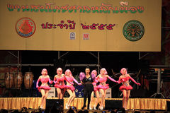 Takkatan Chonlada, Thai famous folk song  artist Stock Photos