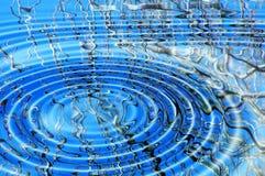 Takken in water royalty-vrije illustratie