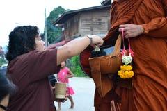 Takknuppel kaonew in Chiangkhan Royalty-vrije Stock Afbeelding