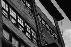 Taklägga linjen, yttersida av maler, Bethlehem Steel Arkivbilder