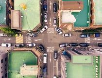 Taklägger Sydkorea för flyg- sikt arkivbilder