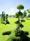 Tako. A garden design of Tako bending for a public park Royalty Free Stock Photography