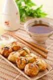 Takoyaki Stockbild