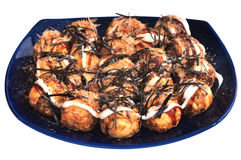 Takoyaki. The most favorit japanese food called Takoyaki Stock Image