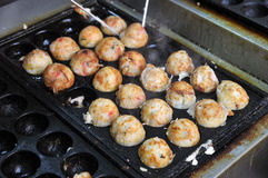 Takoyaki Royalty Free Stock Photography