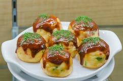 Takoyaki Imagem de Stock