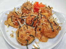 Takoyaki Стоковое Изображение