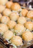 Takoyaki-Ball das japanische Konfekt. Lizenzfreies Stockbild
