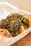 Takoyaki ball : japanese food Stock Photography