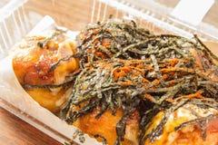Takoyaki ball : japanese food Royalty Free Stock Photography