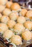 Takoyaki Ball The Japanese Sweetmeat. Royalty Free Stock Image