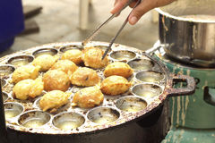 Takoyaki balls dumpling - japanese food Stock Photo