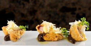 Takoyaki, delicious Japanese style octopus pancake Royalty Free Stock Photography