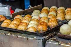 Takoyaki, Japanese snack Stock Photography