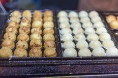 Takoyaki at a night market Stock Image