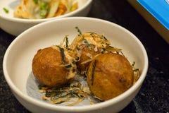 Takoyaki octopus balls Stock Photo