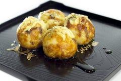 Takoyaki wyśmienicie deser Obraz Stock