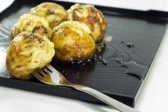 Takoyaki wyśmienicie deser Fotografia Stock