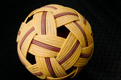 Takraw. Thailand traditional sepak takraw sport game Royalty Free Stock Images
