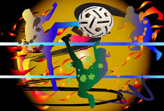 Takraw action Royalty Free Stock Photography