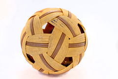 Takraw-ball-on Royalty Free Stock Images