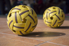 Takraw Ball Stock Photos