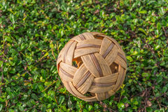 Takraw on the branches Stock Photo