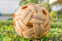 Takraw on the branches Royalty Free Stock Image
