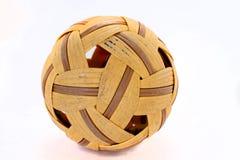 Takraw-sfera-su Immagini Stock Libere da Diritti