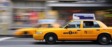 taksówek godzina pośpiechu kolor żółty Obraz Stock