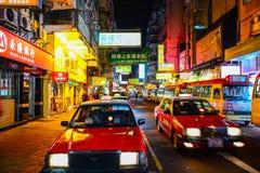 Taksówkarz w Hong Kong Zdjęcia Royalty Free