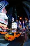 taksówki nowy York Fotografia Royalty Free