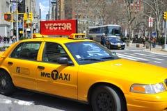 taksówki nyc ulica Fotografia Royalty Free