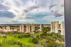 Taksikt av Ribeirao Preto - SP, Brasilien arkivfoton